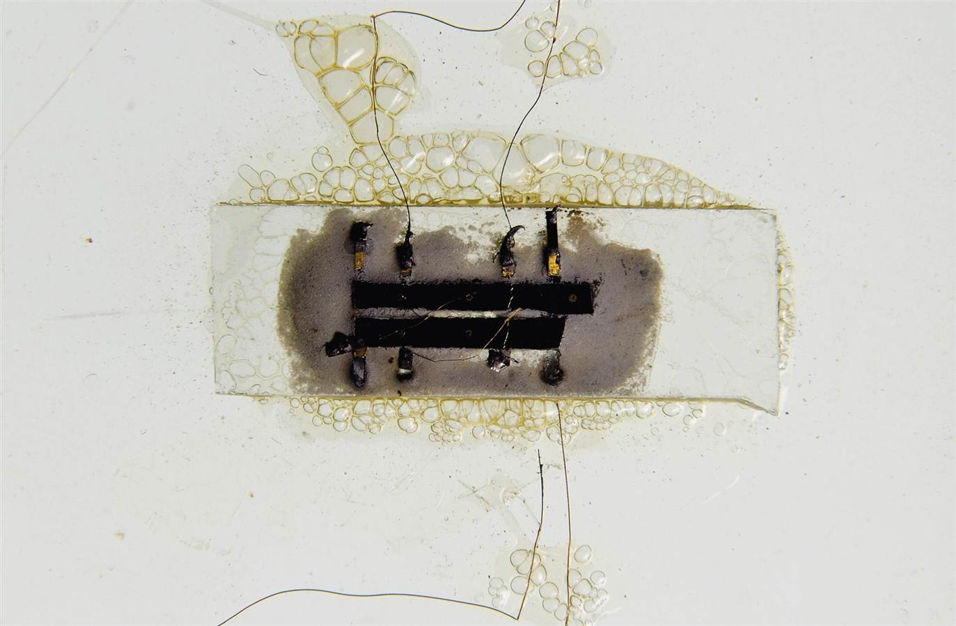 The First Microchip Handmade in 1958 by Jack Kilby