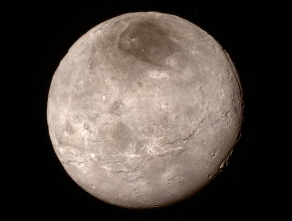 Plutos Largest Moon Charon