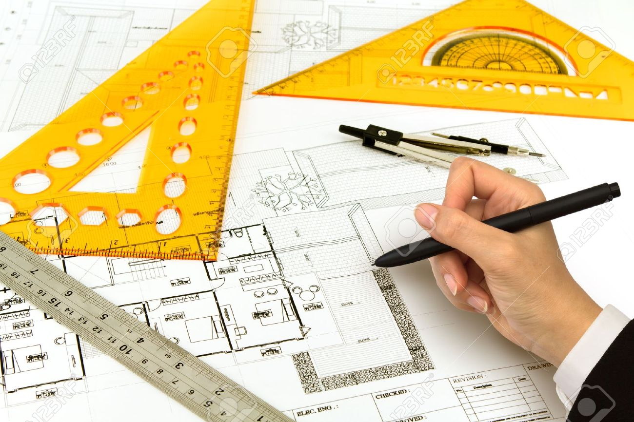 Blueprint House Construction Plans