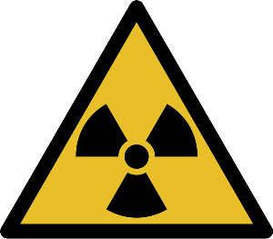 Radio Active Warning Symbol