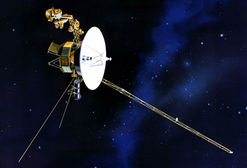 Voyager One Space Probe