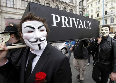 Internet Privacy - Guy Fawkes Mask
