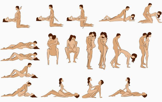 Sexual Intercourse Positions for Man and Women