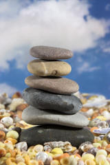 Piled Stones Photo