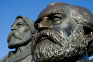 Karl Marx and Friedrich Engels Statue